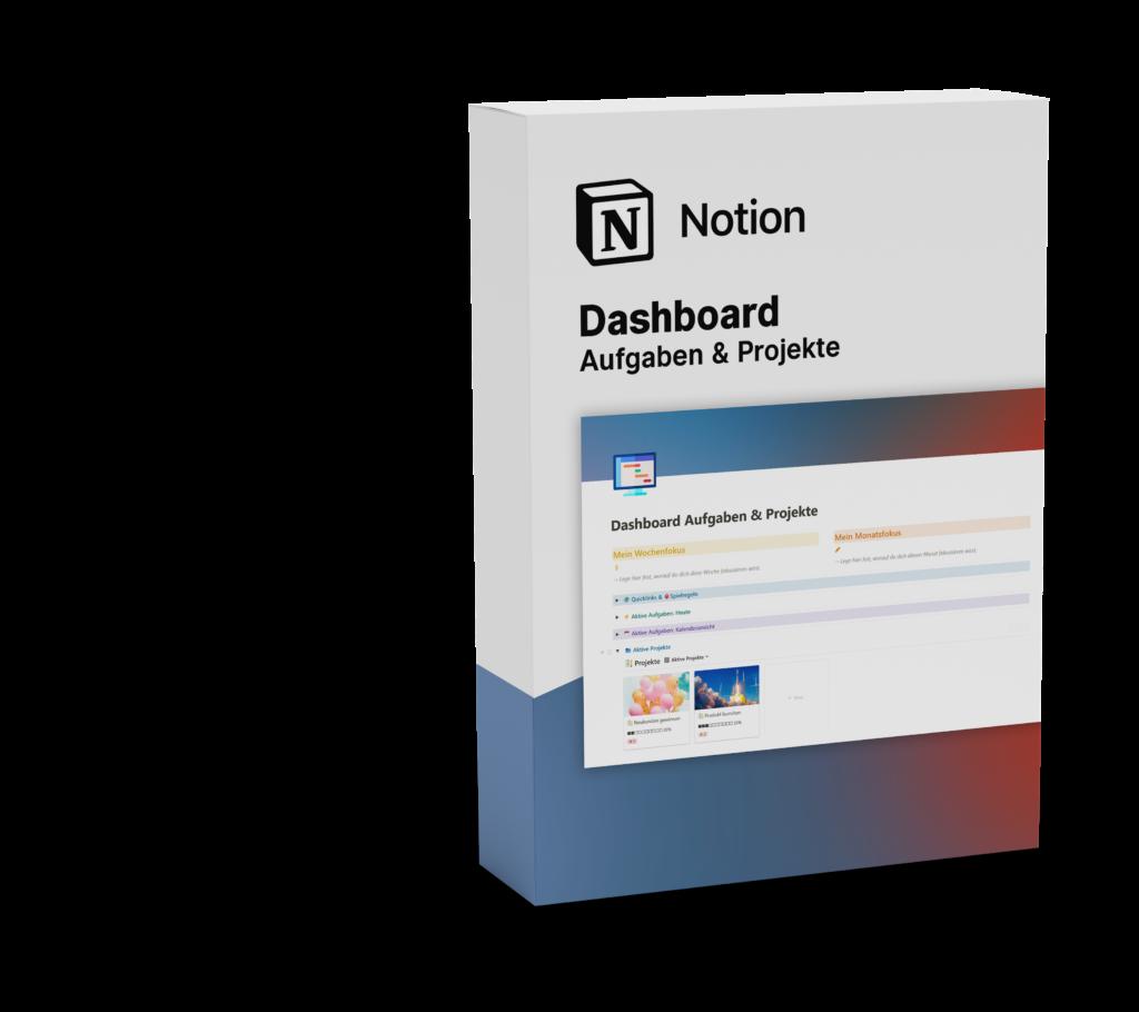Notion-Template-Dashboard-Aufgaben-Projekte